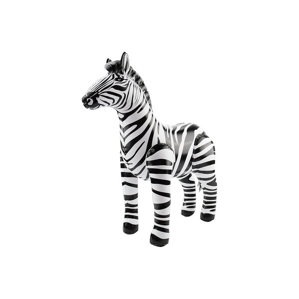Aufblasblarer Zebra