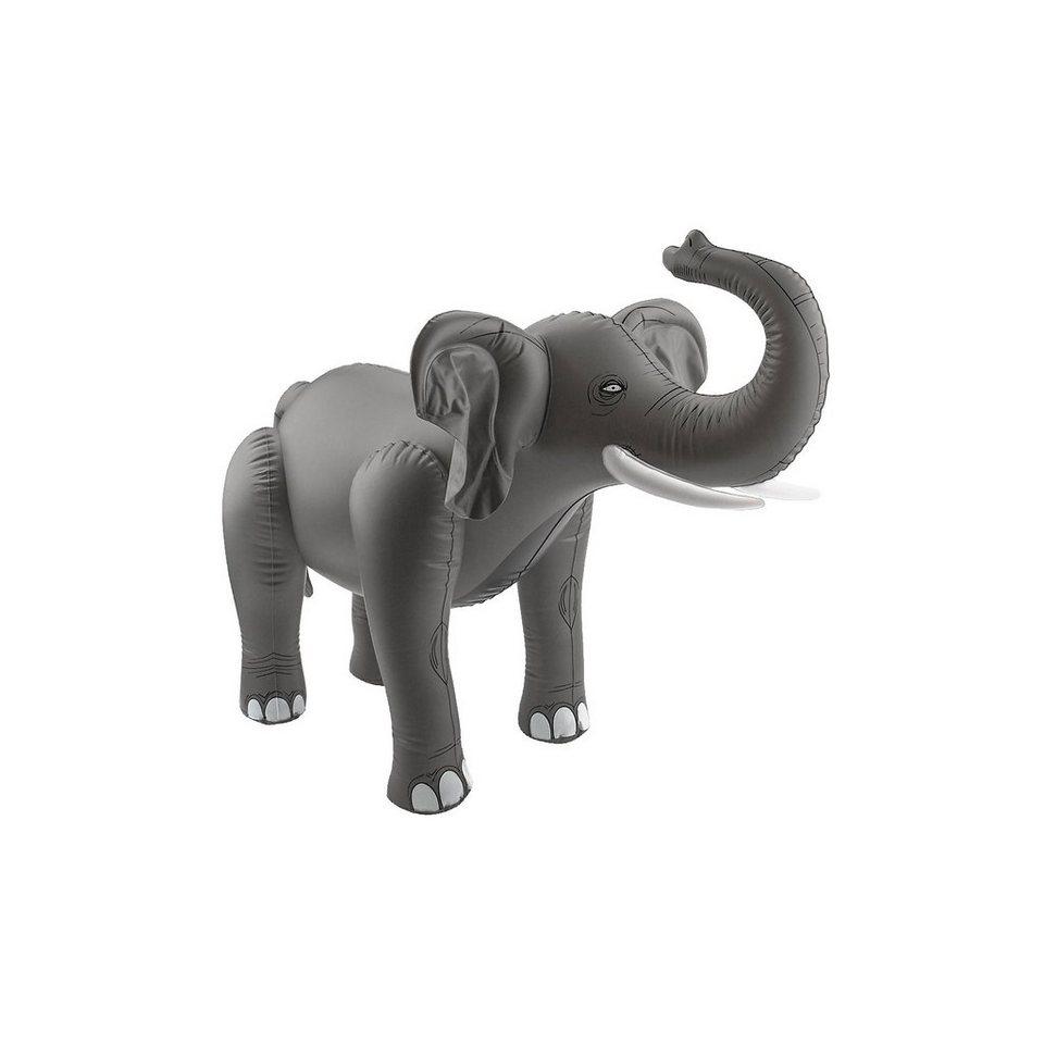 Aufblasbarer Elefant