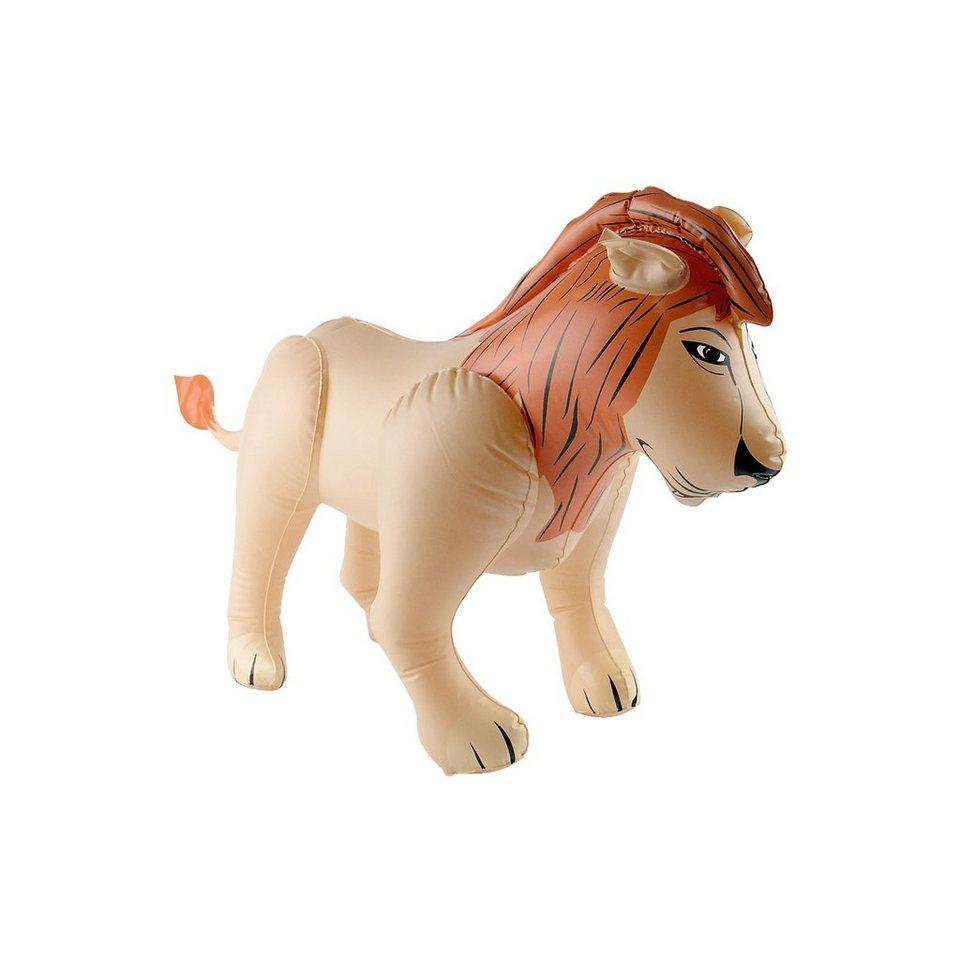 Aufblasbarer Löwe