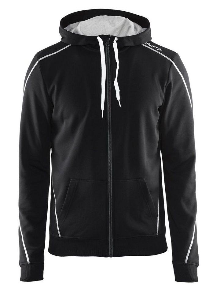 Craft Pullover »In-The-Zone Full Zip Hood Men« in schwarz