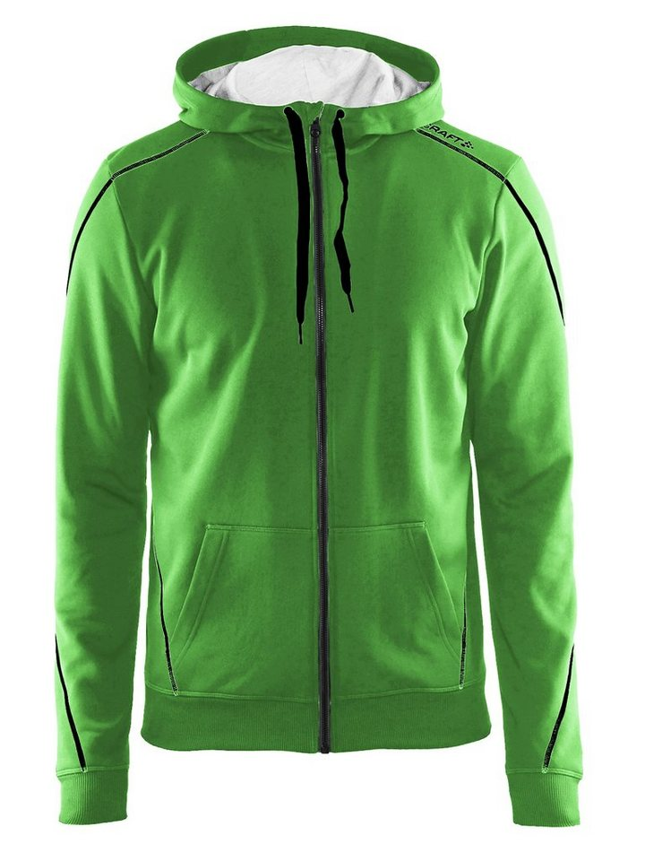 Craft Pullover »In-The-Zone Full Zip Hood Men green« in grün