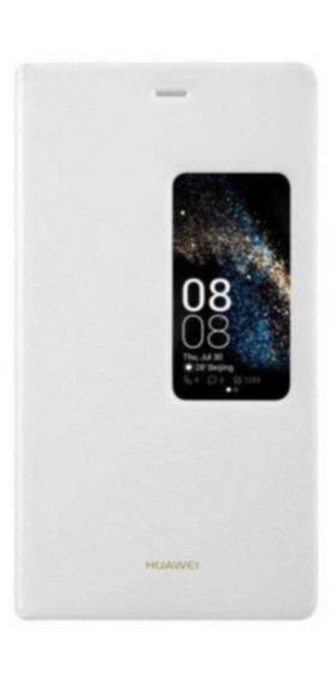 Huawei Handytasche »P8 View Flip Cover« in Weiß
