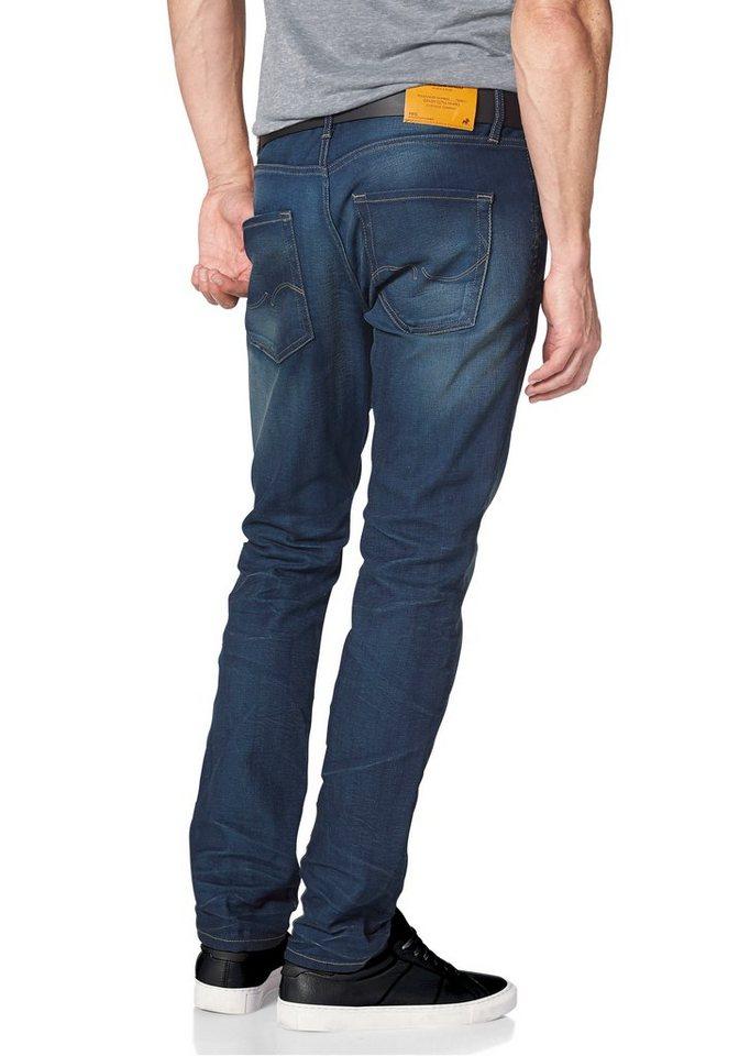 Jack & Jones Slim-fit-Jeans »Tim« in blue-used