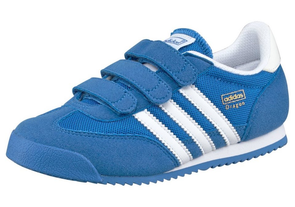 adidas Originals Sneaker »Dragon Klett« in blau-weiß