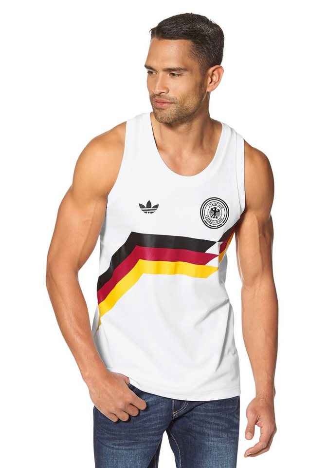 adidas Originals Muscleshirt in Weiß