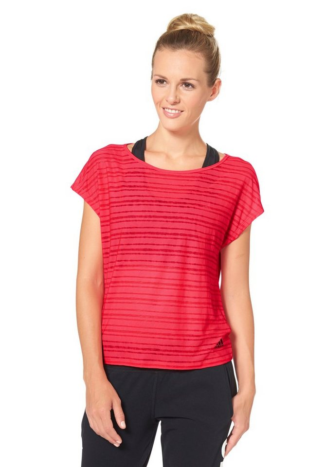 adidas Performance LIGHTWEIGHT TEE Funktions-T-Shirt in Rot