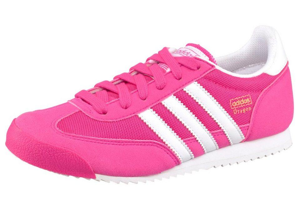 adidas Originals Dragon J Sneaker in Pink
