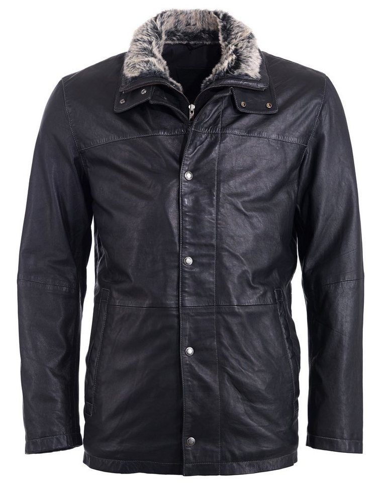Mustang Lederjacke, Herren »King« in black