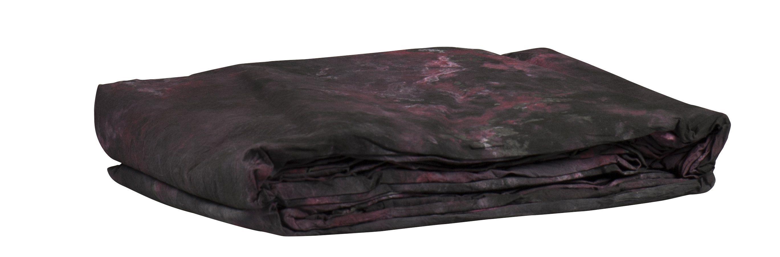 BRESSER Fotostudio »BRESSER Hintergrundtuch 3x6m RED-BLACK EXCITEMENT«