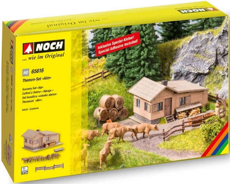 NOCH Modelleisenbahn-Gebäude »Alm«