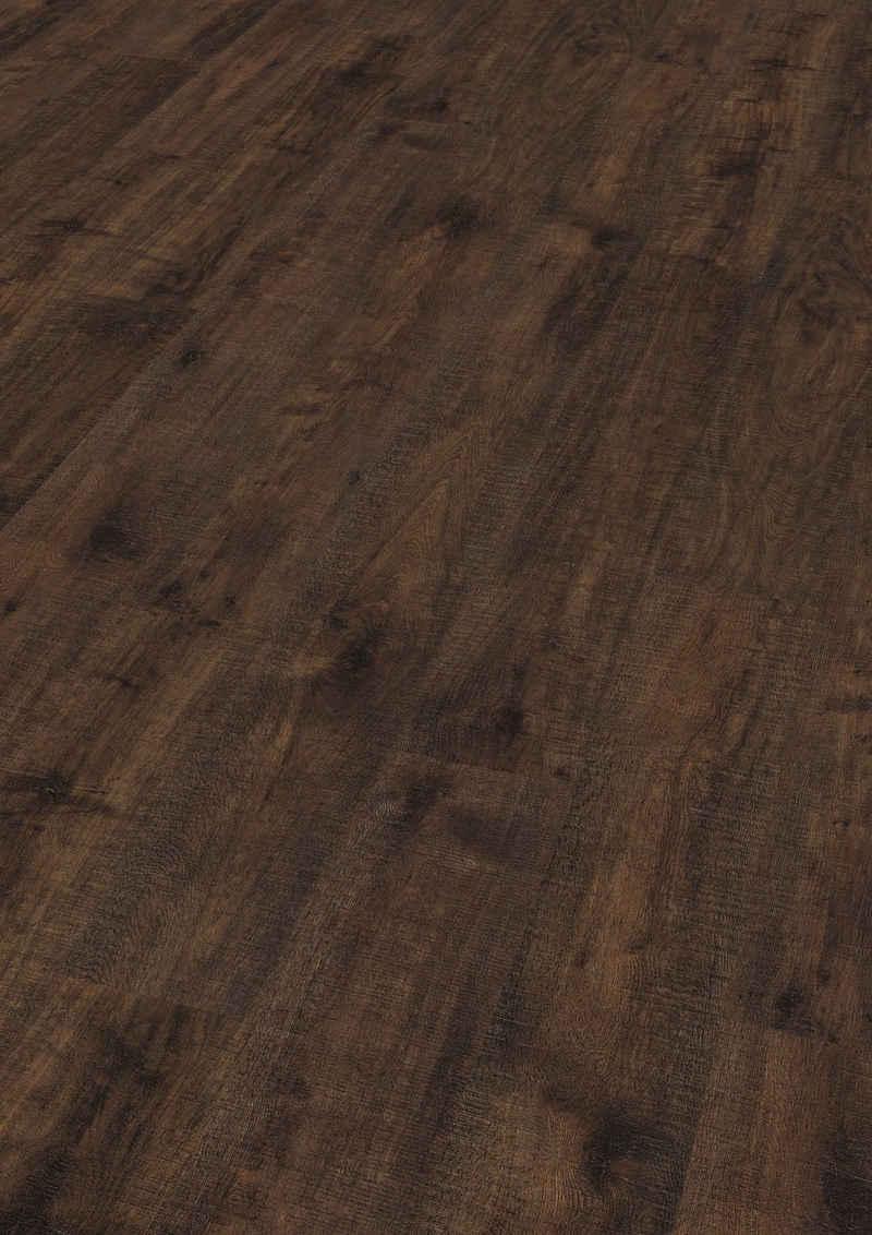EGGER Laminat »EHL169 Everett Eiche braun«, Holzoptik, universell einsetzbar, 8mm, 1,995m²