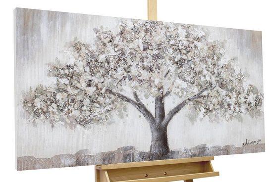 KUNSTLOFT Gemälde »Weide der Weisheit«, handgemaltes Bild auf Leinwand