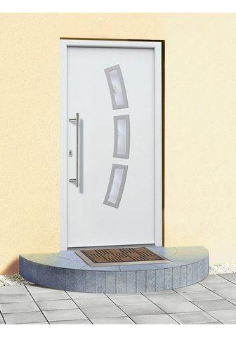 KM Zaun Haustür »A07« BxH: 98x198 cm weiß in 2...