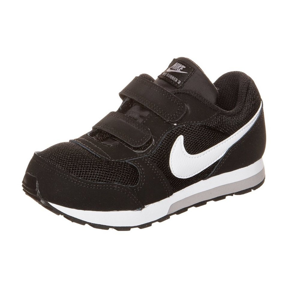 Nike Sportswear MD Runner TDV Sneaker Kleinkinder in schwarz / weiß
