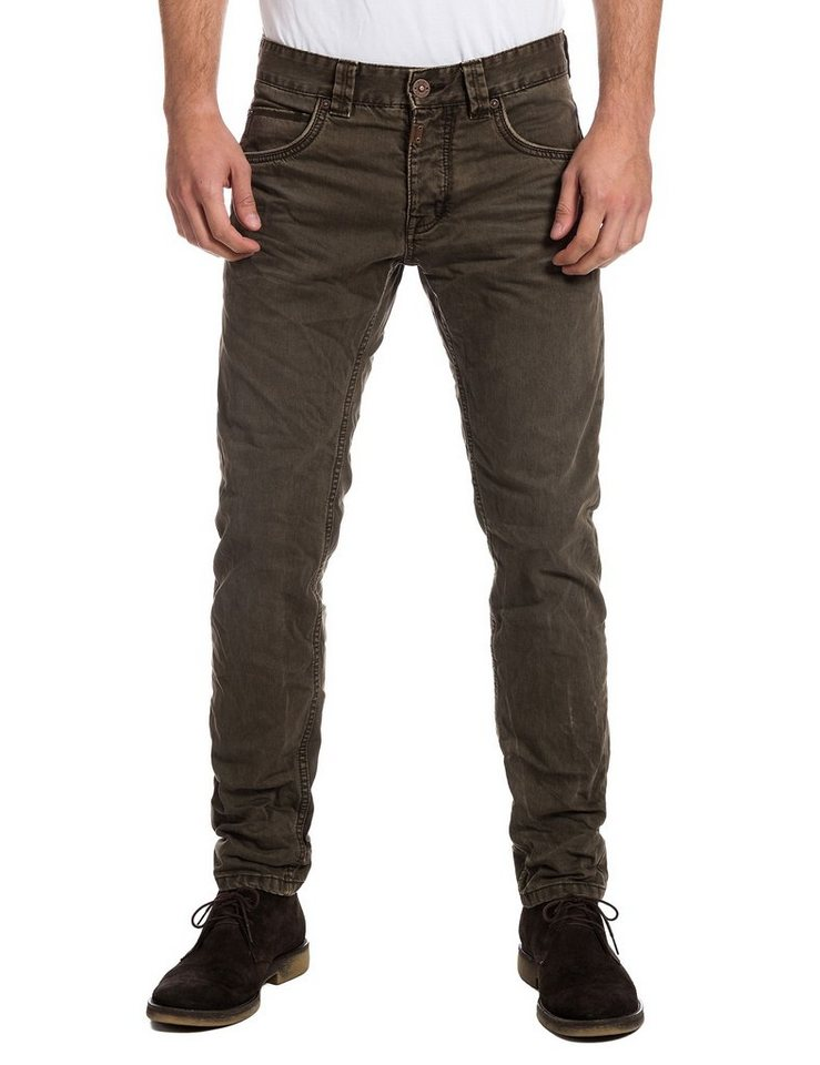 TIMEZONE Jeans »EdoTZ 5-pocket pants« in kombu green