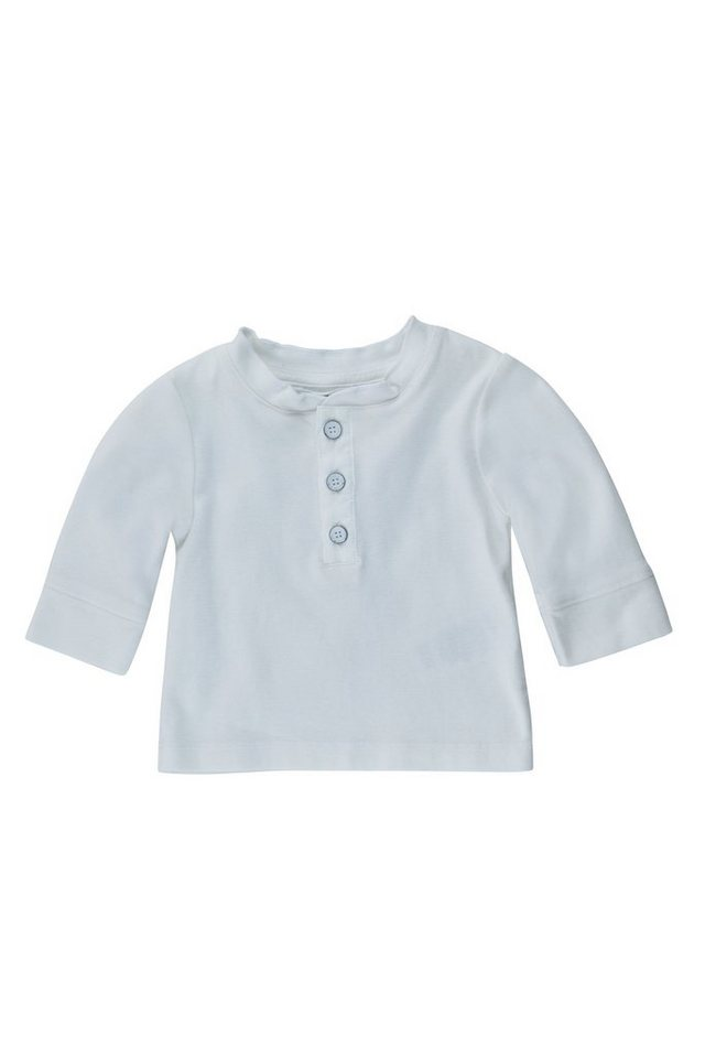 BELLYBUTTON Baby Langarmshirt »Rippe« in bright white