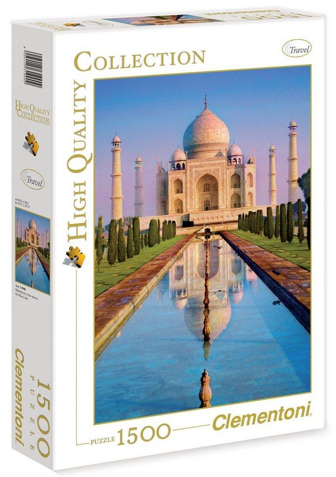Clementoni Puzzle, 1500 Teile, »Taj Mahal«