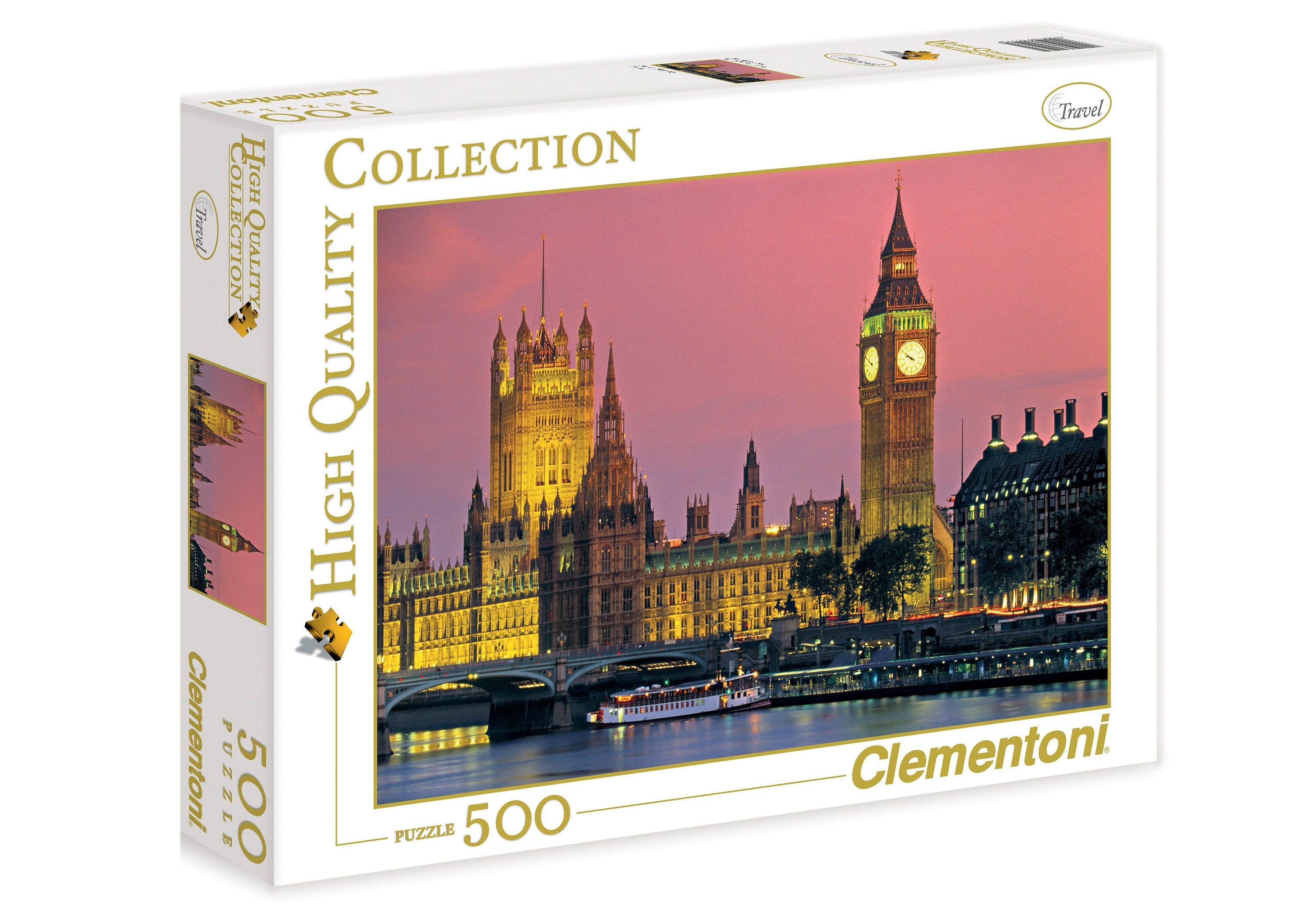 Clementoni Puzzle, 500 Teile, »London Houses of Parliament«