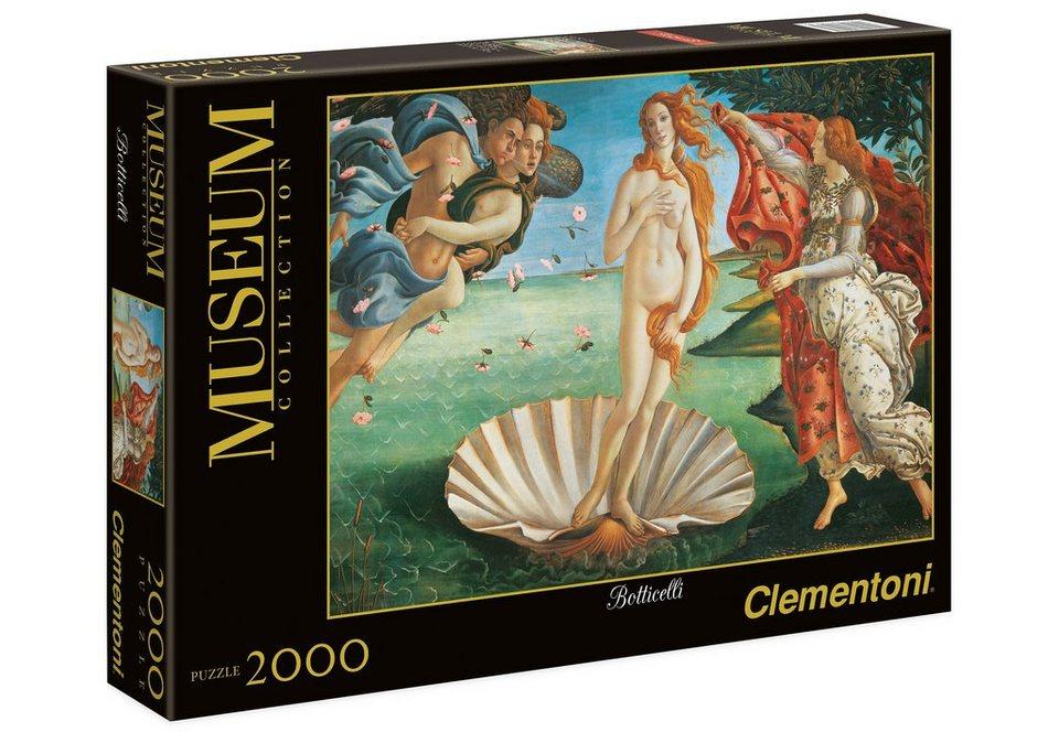 Clementoni Puzzle, 2000 Teile, »Botticelli, Geburt der Venus«