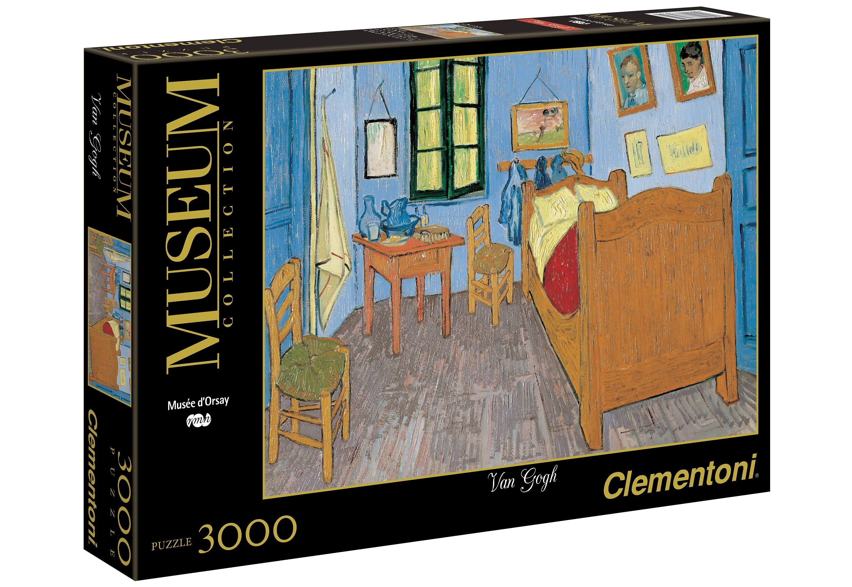 Clementoni Puzzle, 3000 Teile, »Van Gogh, Das Zimmer in Arles«