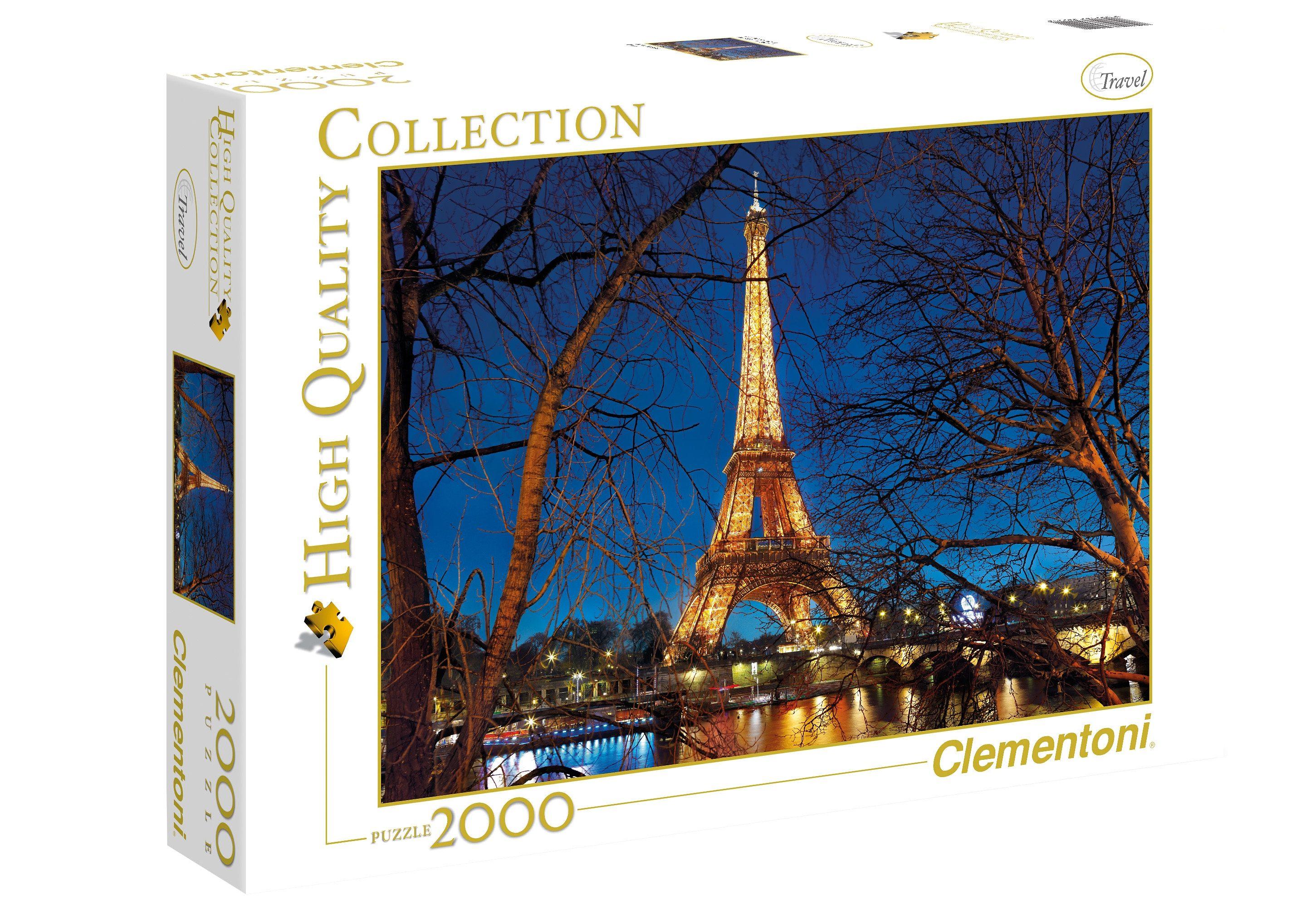 Clementoni Puzzle, 2000 Teile, »Paris«