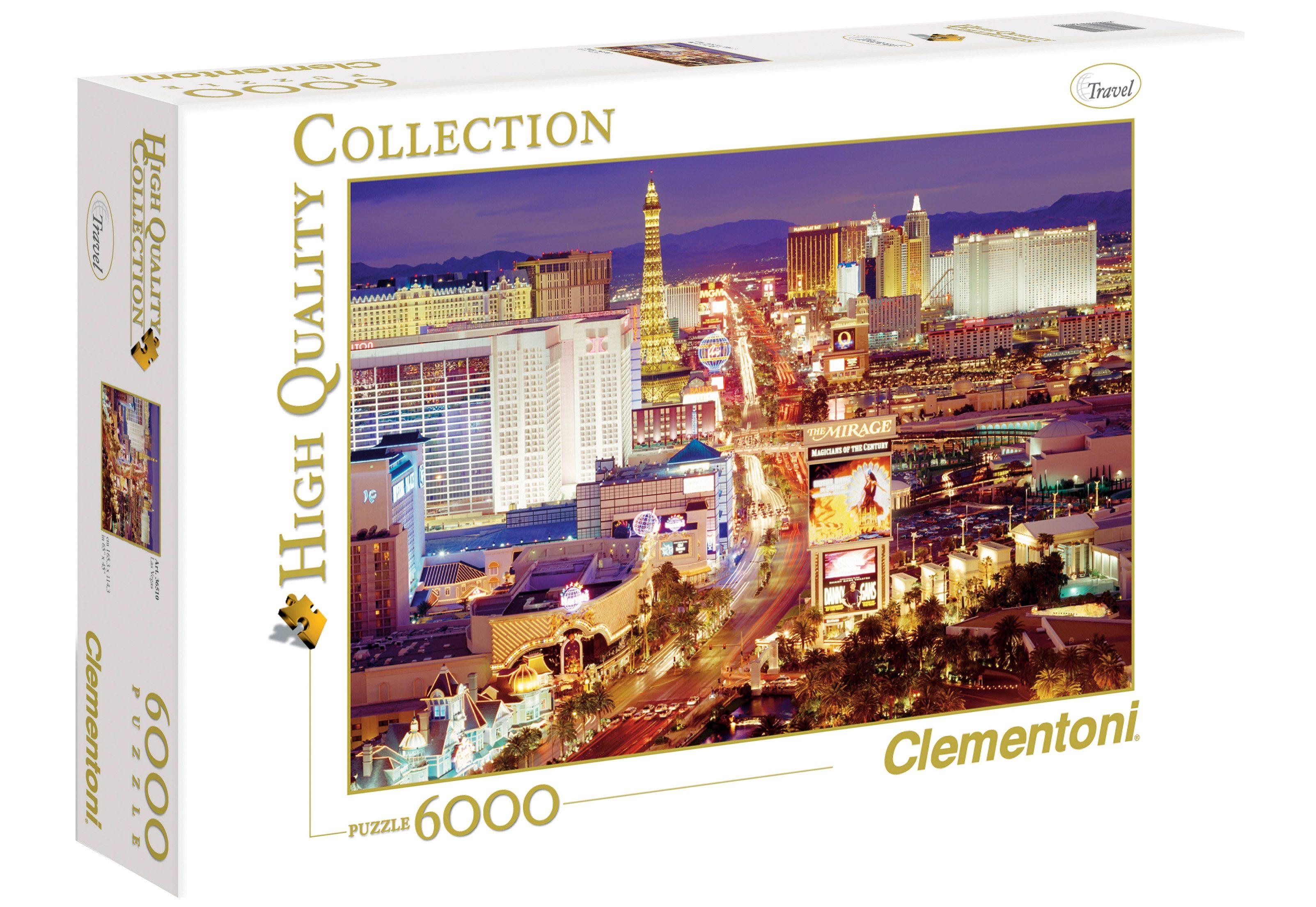 Clementoni Puzzle, 6000 Teile, »Las Vegas«