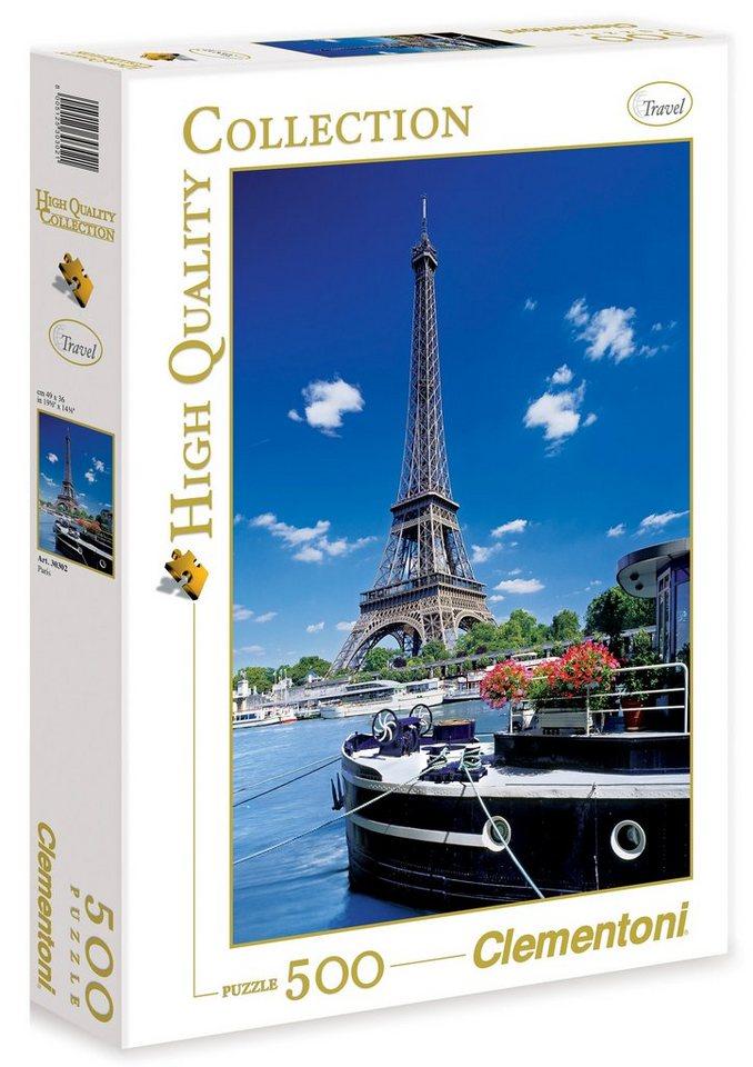 Clementoni Puzzle, 500 Teile, »Paris«
