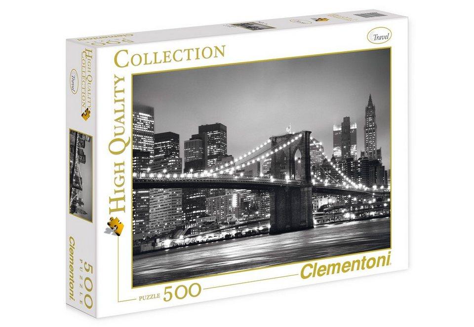 Clementoni Puzzle, 500 Teile, »New York«