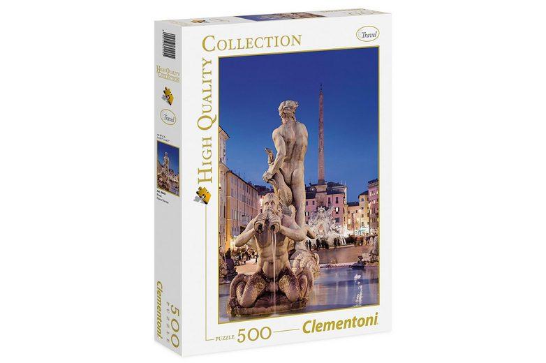 Clementoni Puzzle, 500 Teile, »Rom Piazza Navona«