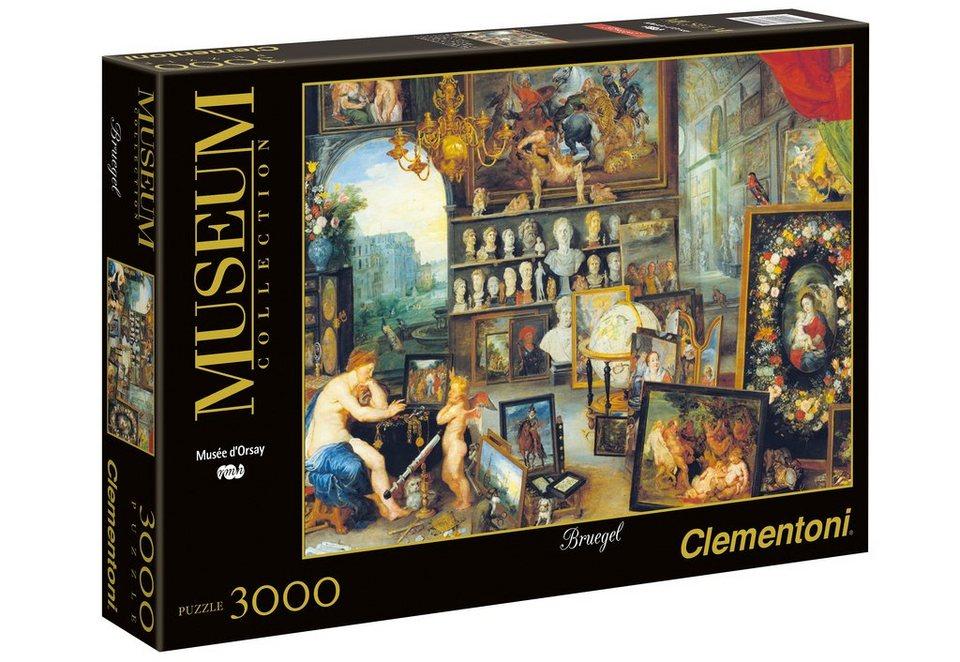 Clementoni Puzzle, 3000 Teile, »Bruegel Sight«
