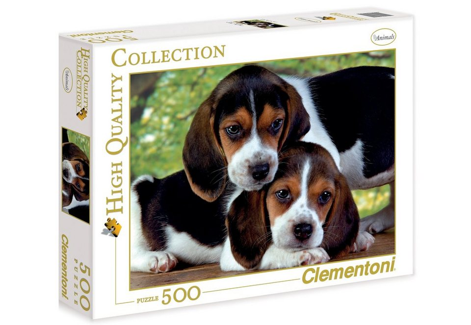 Clementoni Puzzle, 500 Teile, »Close Together«