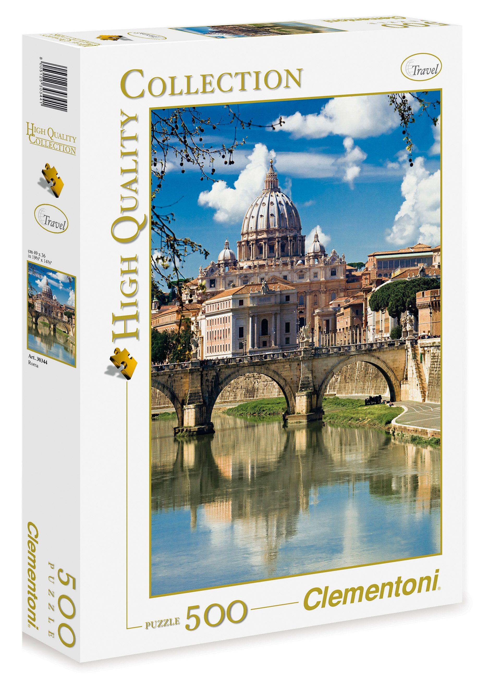 Clementoni Puzzle, 500 Teile, »Rom«