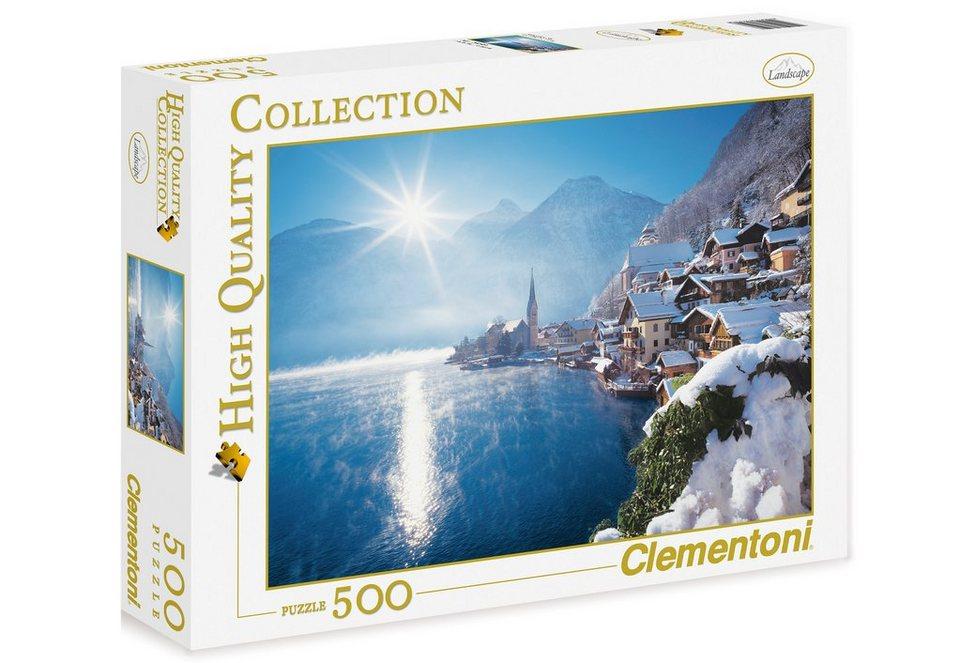 Clementoni Puzzle, 500 Teile, »Hallstatt, Österreich«