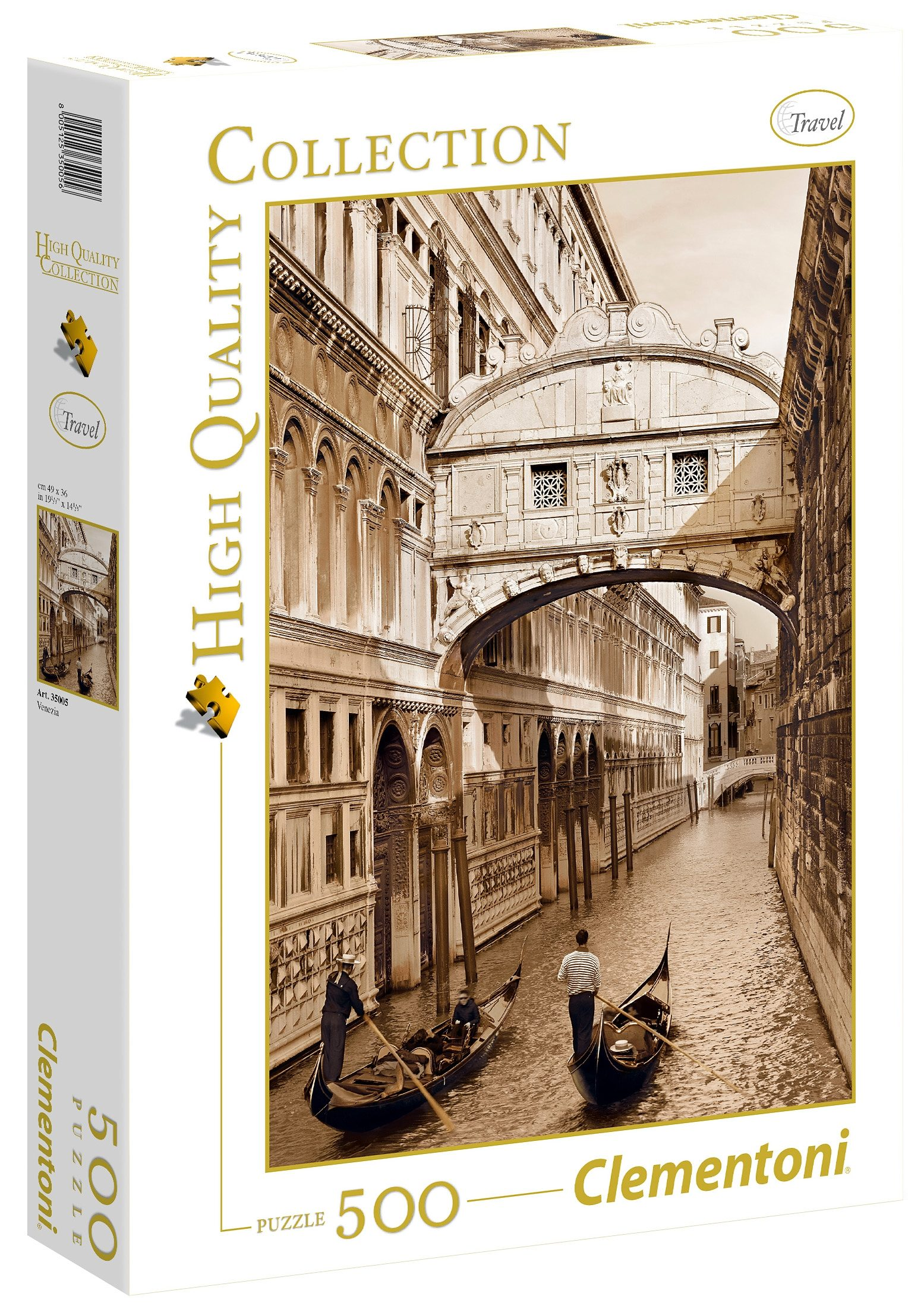 Clementoni Puzzle, 500 Teile, »Venedig«