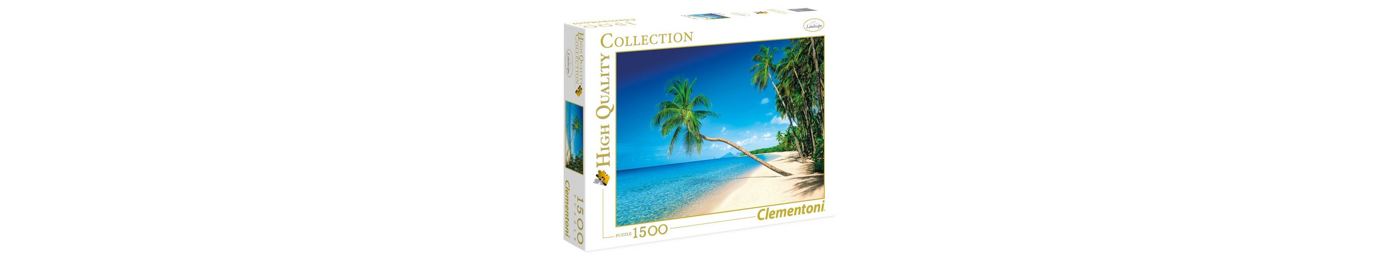 Clementoni Puzzle, 1500 Teile, »Martinique, Karibik«
