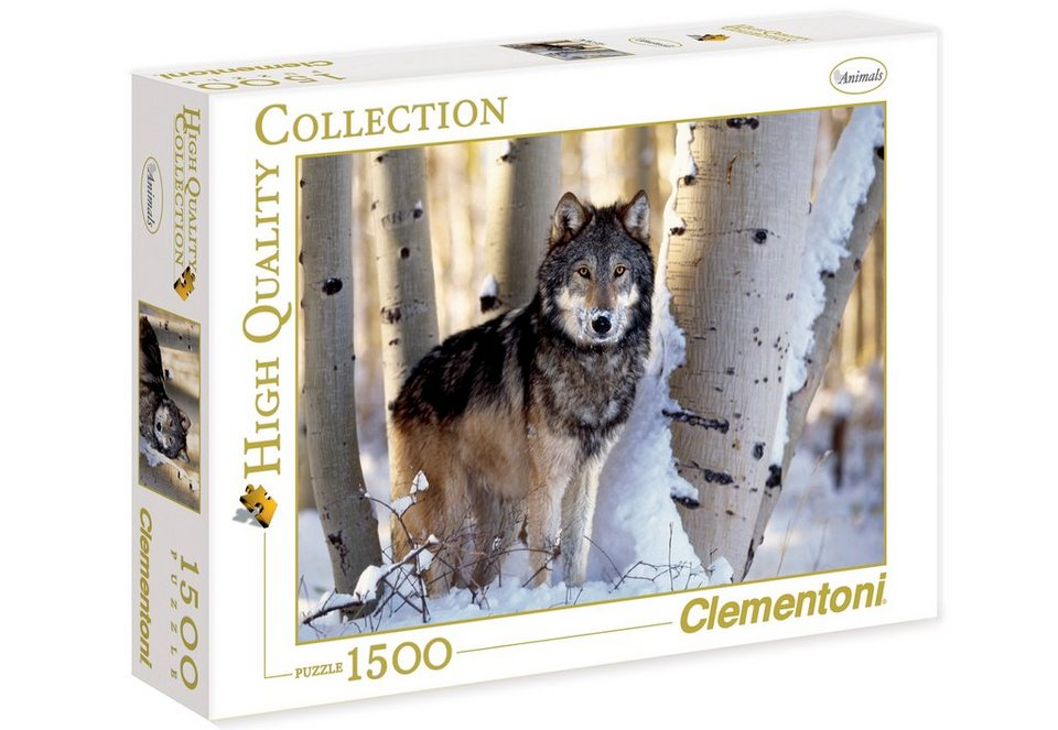 Clementoni Puzzle, 1500 Teile, »Winter Hunting«