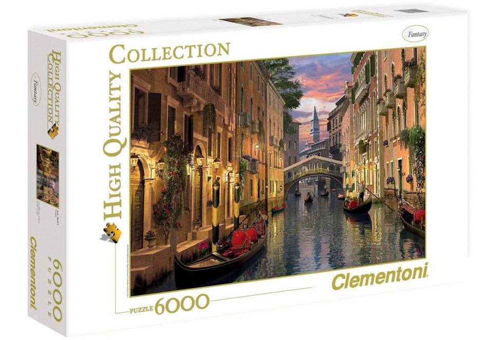 Clementoni Puzzle, 6000 Teile, »Venedig«