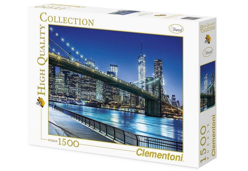 Clementoni Puzzle, 1500 Teile, »New York«