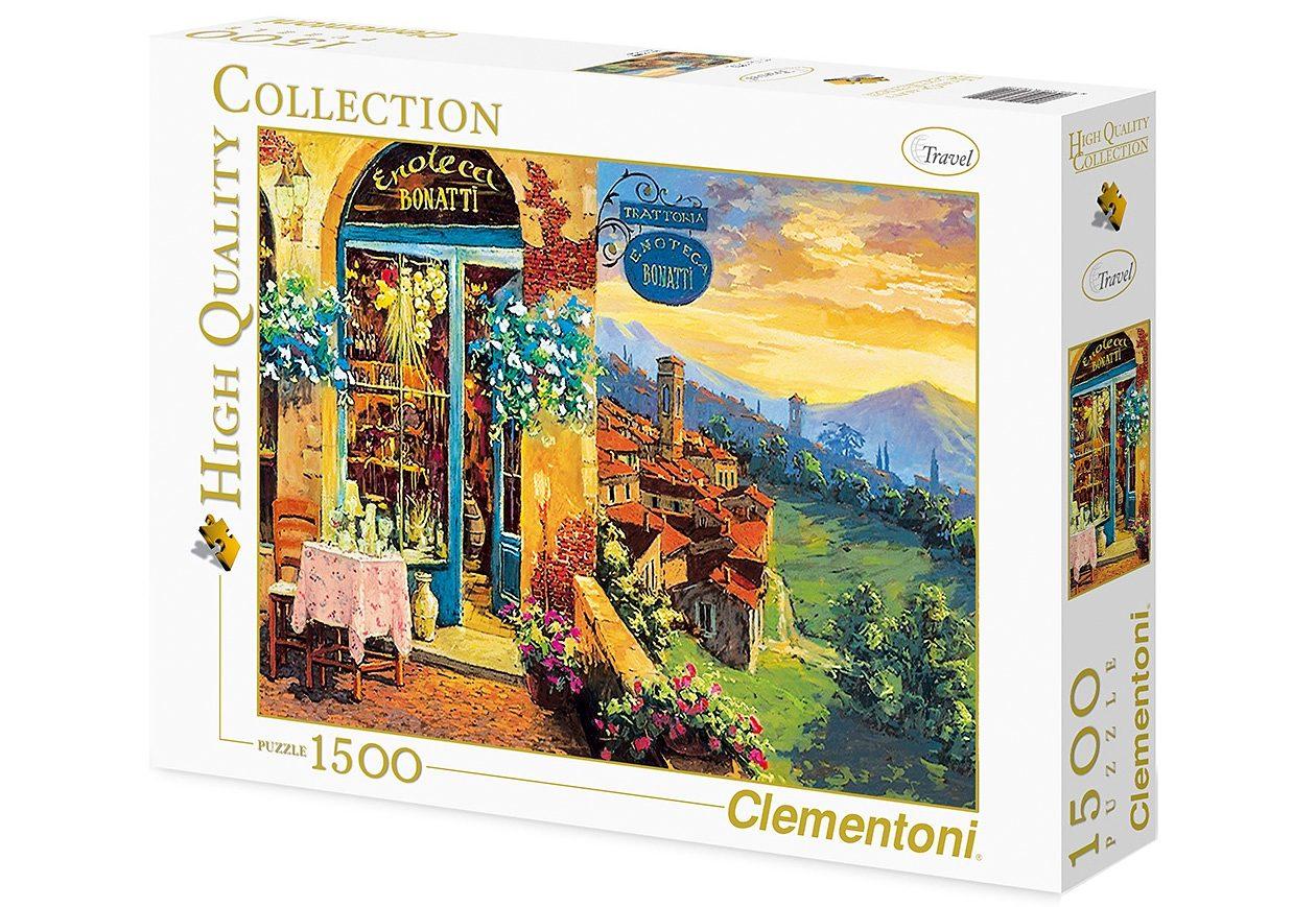 Clementoni Puzzle, 2000 Teile, »L'enoteca«
