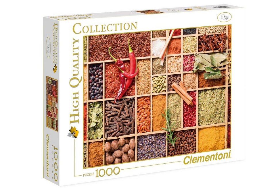 Clementoni Puzzle, 1000 Teile, »Sehr scharf!«