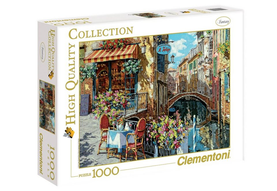 Clementoni Puzzle, 1000 Teile, »Ristorante tartufo«