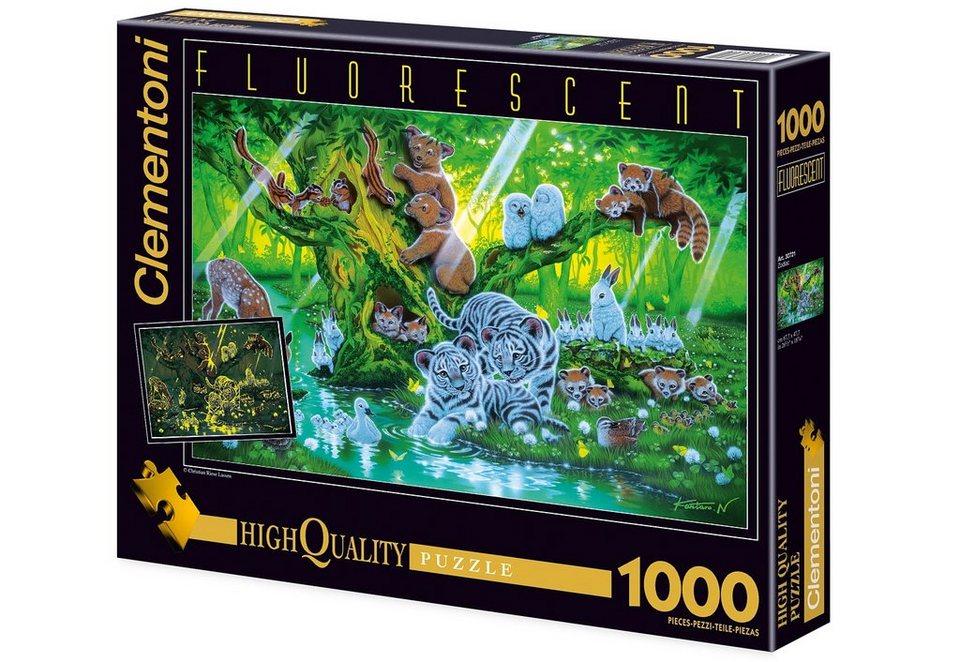 Clementoni Fluoreszierendes Puzzle, 1000 Teile, »Mother Tree«