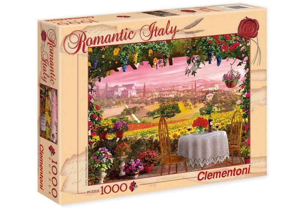 Clementoni Puzzle, 1000 Teile, »Toscana«