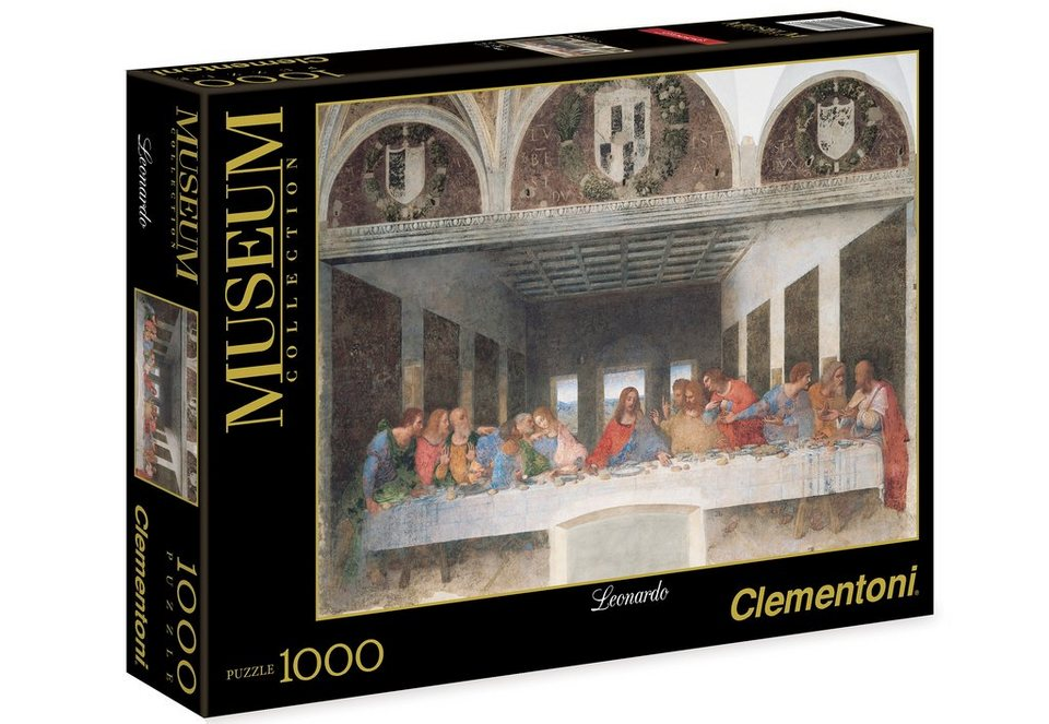 Clementoni Puzzle, 1000 Teile, »Leonardo, Das Abendmahl«