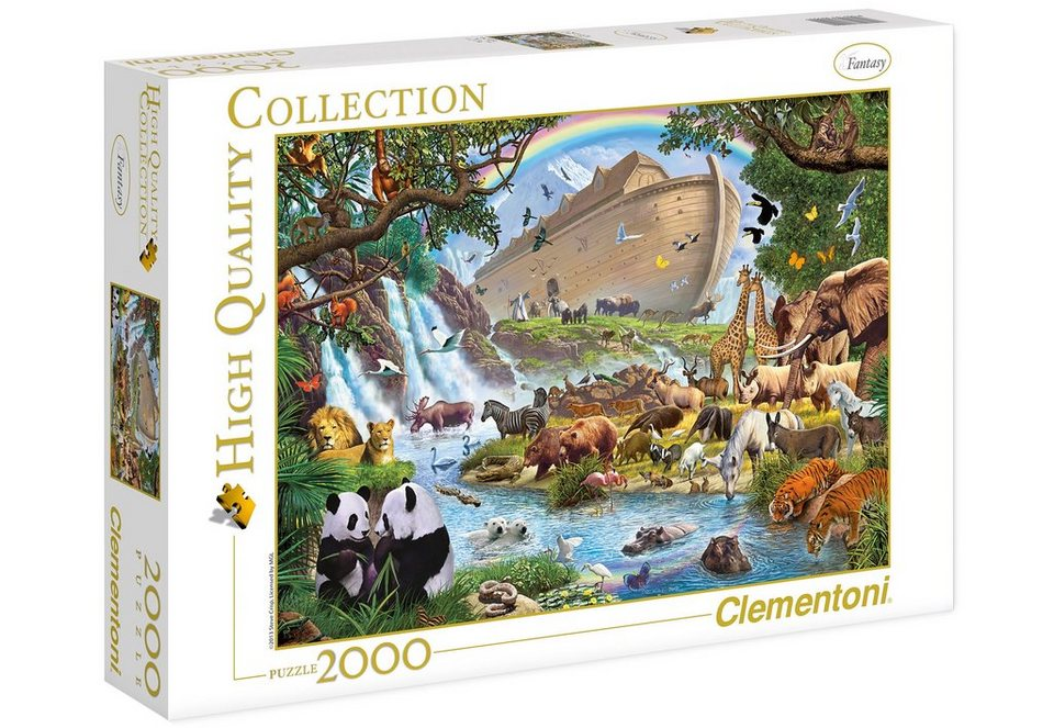 clementoni puzzle 2000 teile arche noah kaufen otto. Black Bedroom Furniture Sets. Home Design Ideas