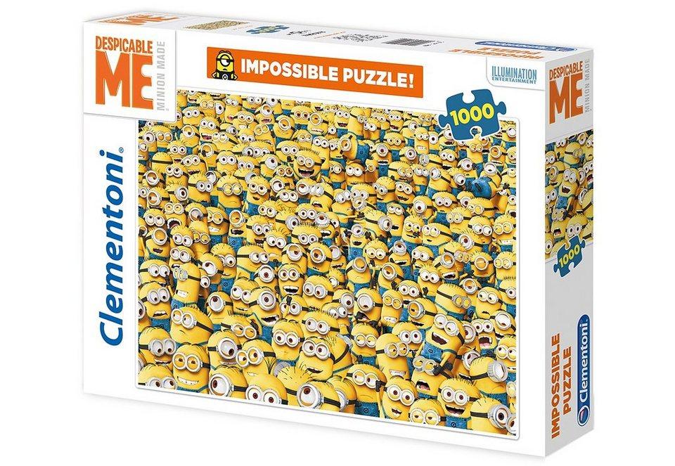 Clementoni Puzzle, 1000 Teile, »Minions«