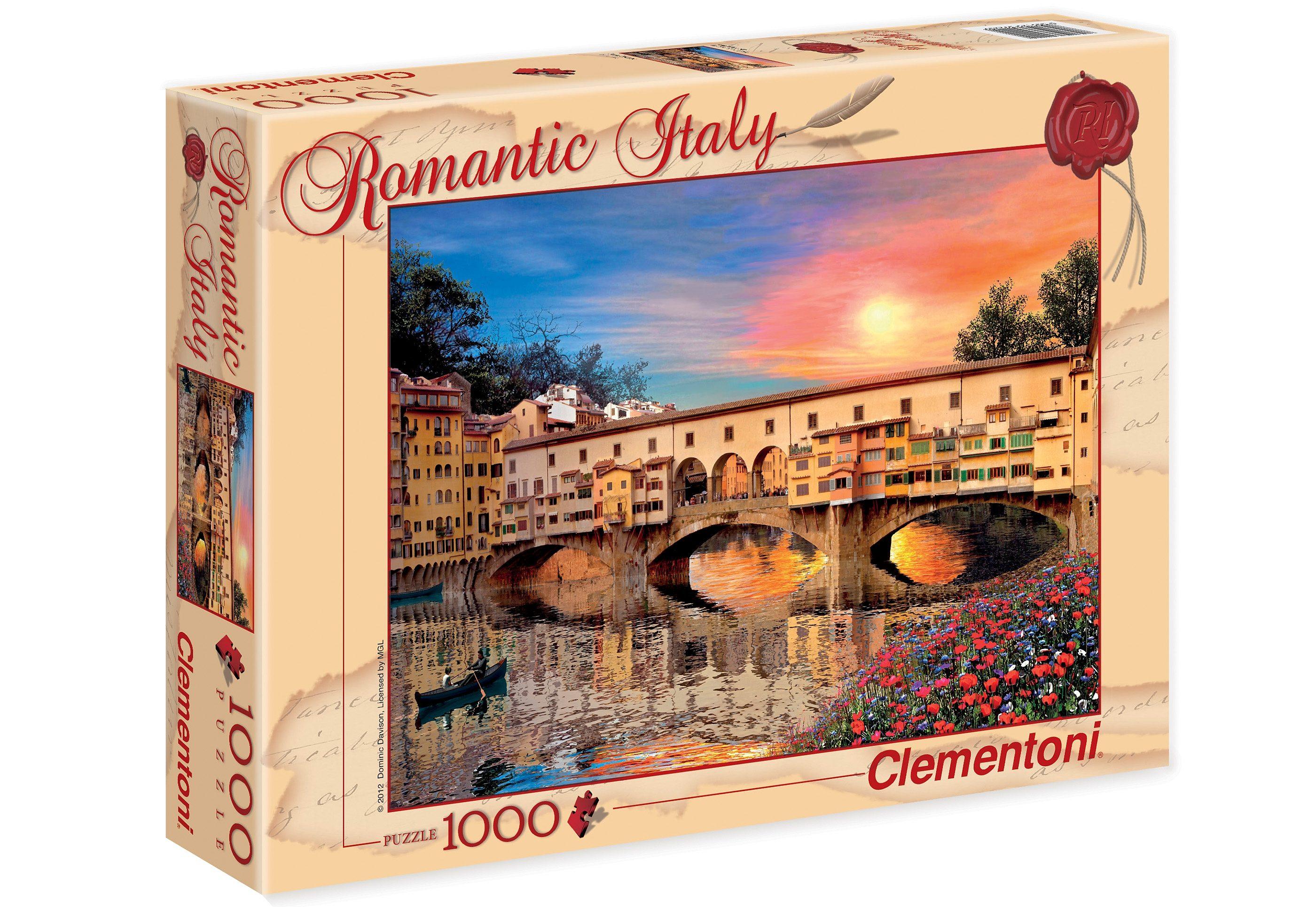 Clementoni Puzzle, 1000 Teile, »Firenze«