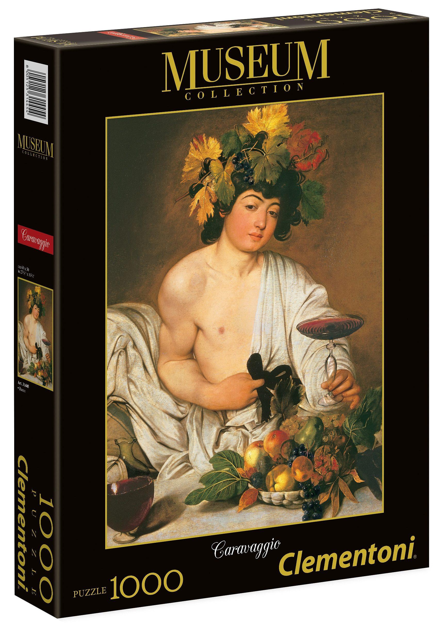 Clementoni Puzzle, 1000 Teile, »Michelangelo, Bacchus«