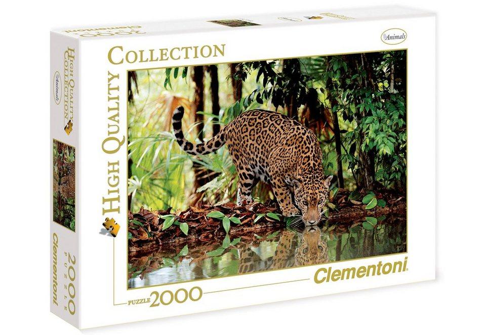 Clementoni Puzzle, 2000 Teile, »Leopard«