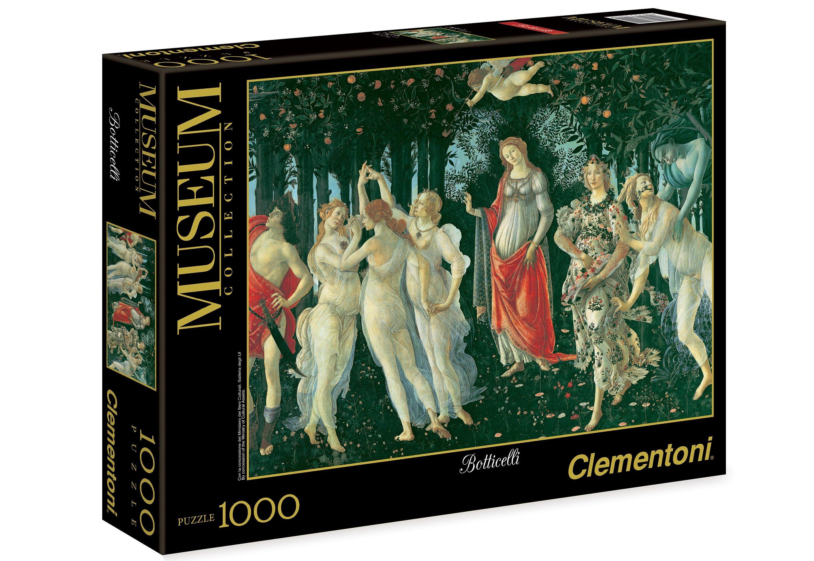 Clementoni Puzzle, 1000 Teile, »Botticelli, Der Frühling«